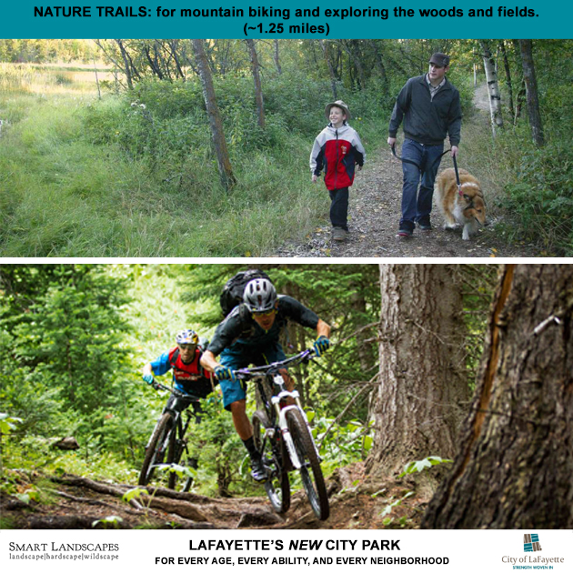 LaFayette nature trail biking ideas